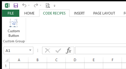 Custom Tab in Excel