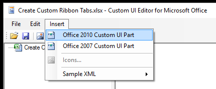 Insert Custom UI Part